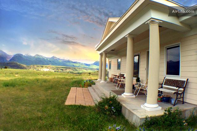 Yellowstone Lodging for an Unforgettable Vacation. Enjoy the 10-acre privacy and great views...