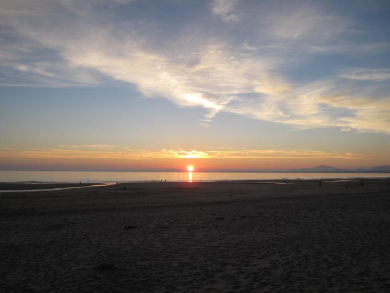 Harlch Beach Sunset, and Harlech Castle, 20minute drive