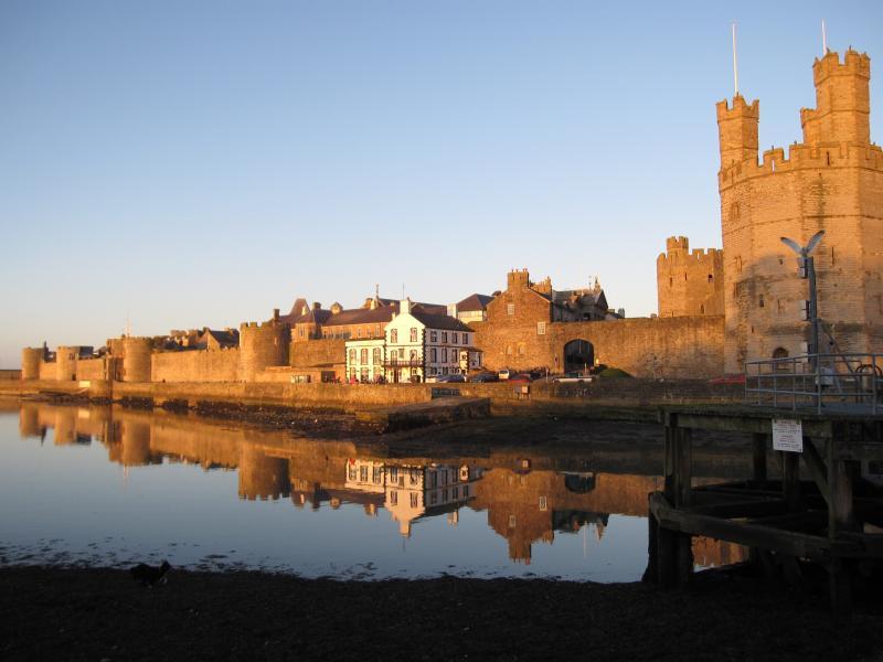 Caernarfon Castle - 50 minute drive