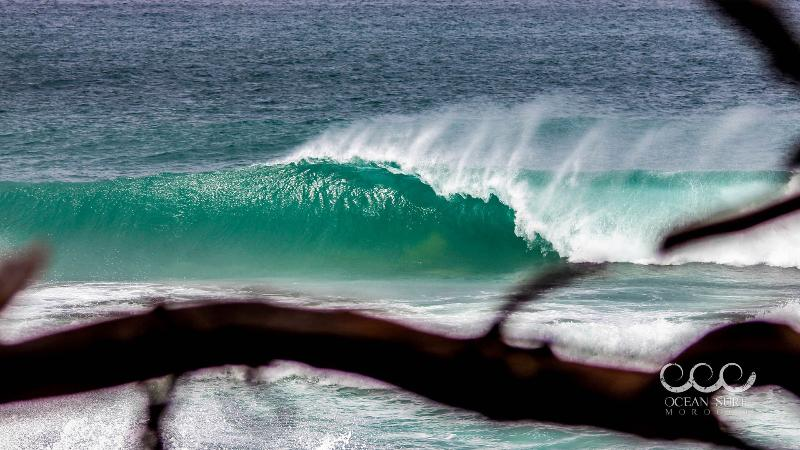 Surf Marokko - schöne klare Surf Welle
