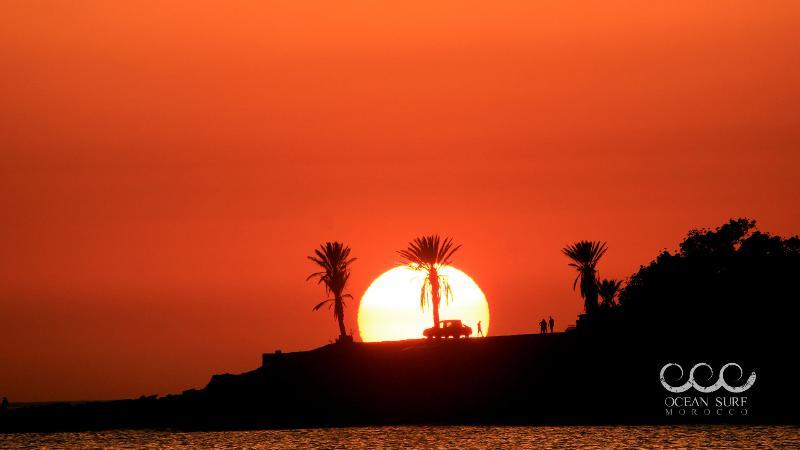 Surf Marokko - Sonnen Untergang