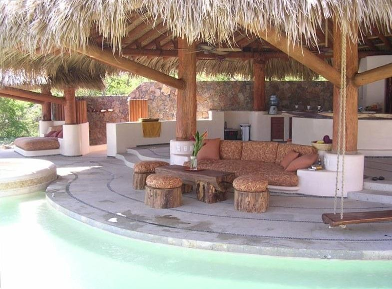 Luxury Beach Front House, holiday rental in Troncones