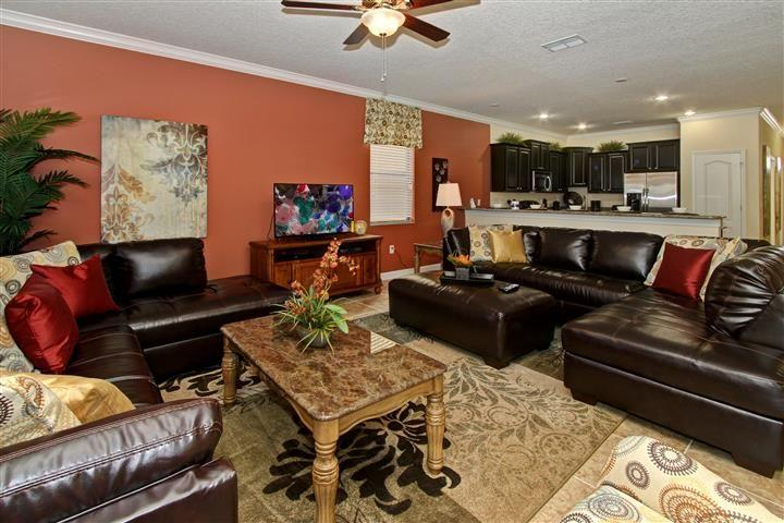 ✿Near Disney World - Spacious 8 BR Villa w/ Private Pool✿, vacation rental in Polk City