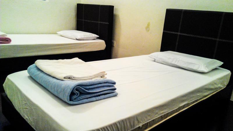 Nyonya Delights accommodate 2-4 person. 2 Single Beds