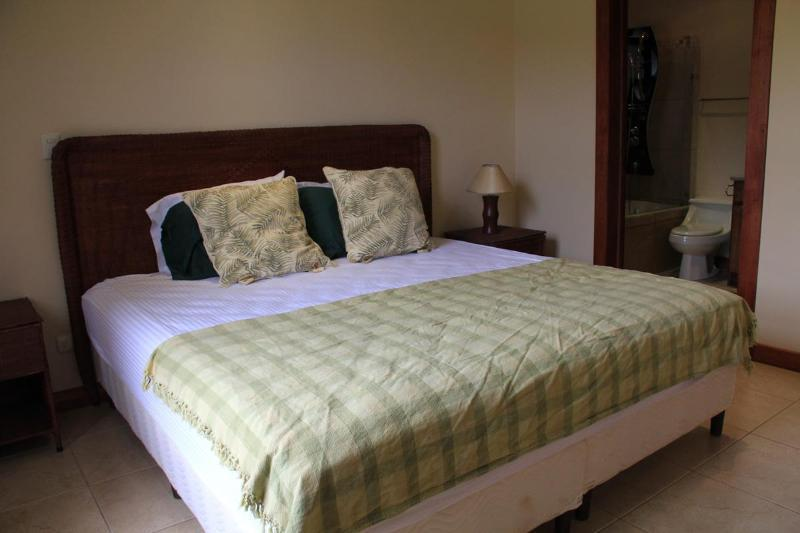 King size bed - master bedroom #1 with full attached bathroom