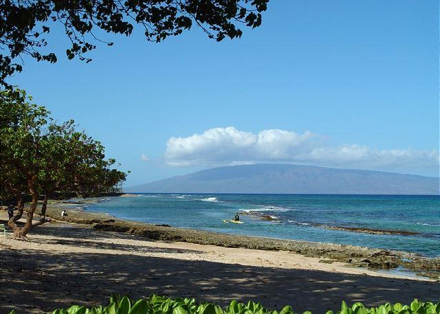 View from lanai and condo.