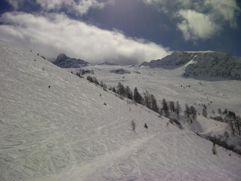 Another perfect skiing day and slopes