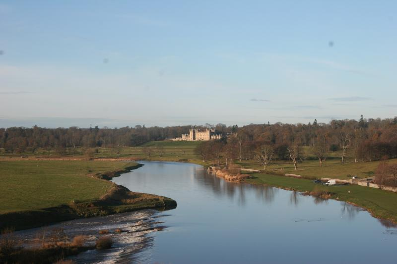 Great views of the river and Floors Castle