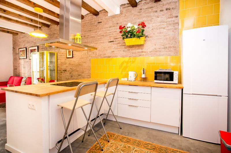 64 Apartment in a typical Barcelona's old building, holiday rental in Barcelona