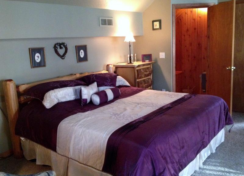Master camera da letto con Sauna