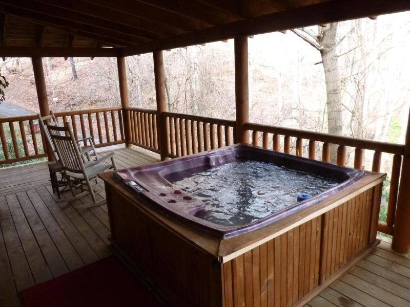 Relax coperto vasca idromassaggio
