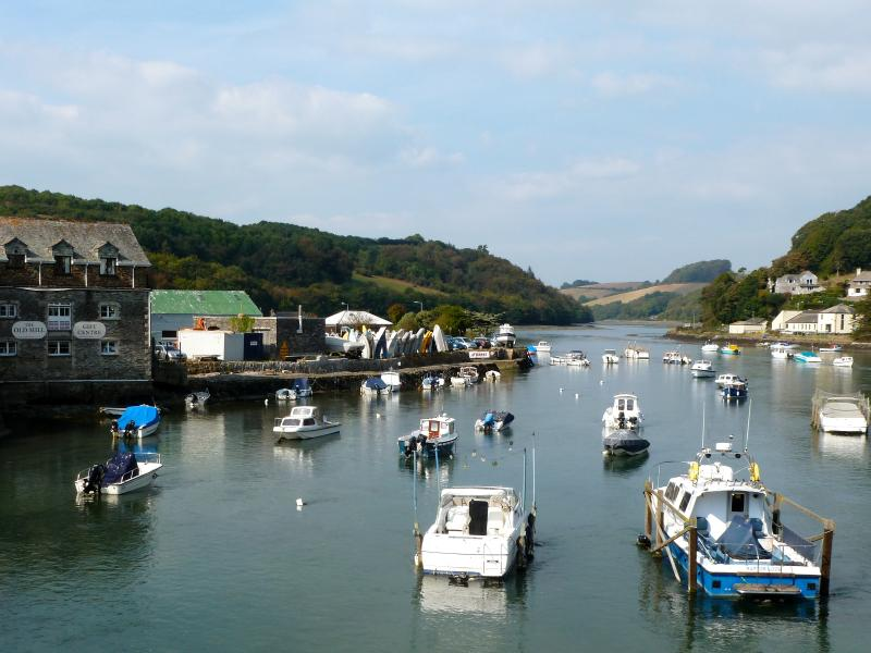 Visit the wonderful fishing village of Looe by walking the coastal path