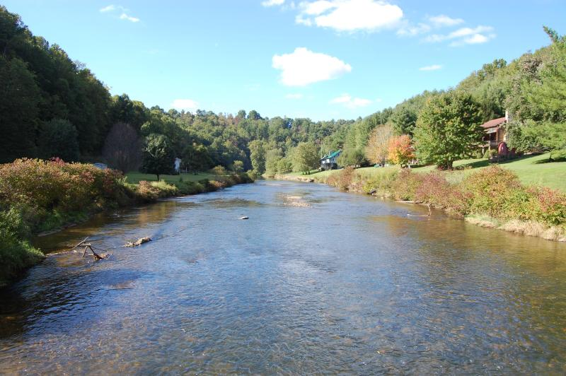 Enjoy kayaking, canoeing, fishing, or just relaxation with this as your view!