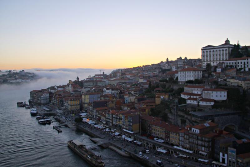 Sun set Porto