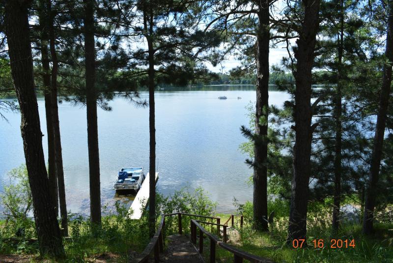 Vue sur le lac du lac Robinson