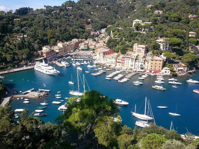 Portofino nur 7 km (5 Meilen) entfernt