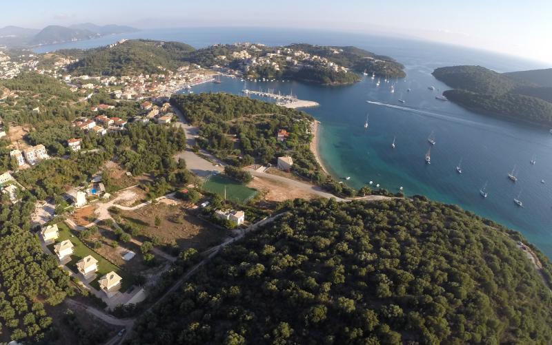 Panoramautsikt över Villaggio Sioutis