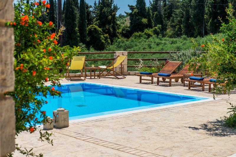 Villa Azzurra swimming pool area