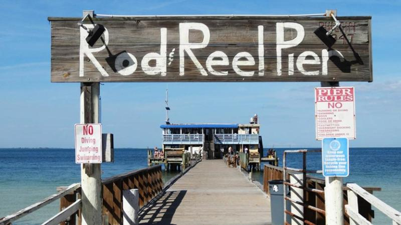 Near the Rod & Reel Pier