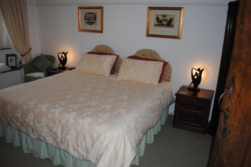 Ground floor Tudor suite with super-king bed or twin beds