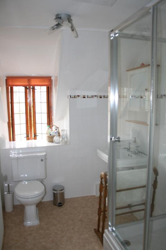 Large upstairs shower room