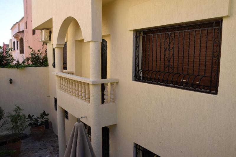 overview terrace, balcony also same appartment