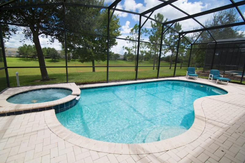 Private Heated Pool and in-ground Spa - No rear neighbors