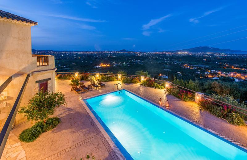 Villa Rosa balcony view