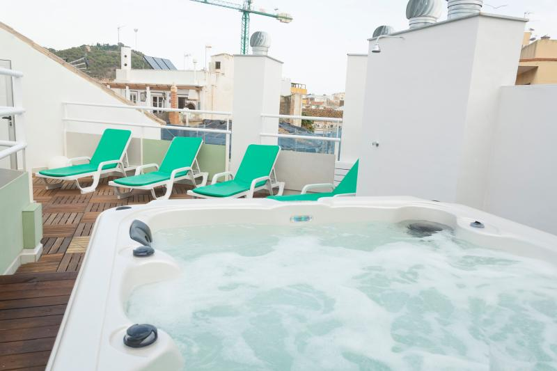 JACUZZI IN THE SHARED ROOF TERRACE