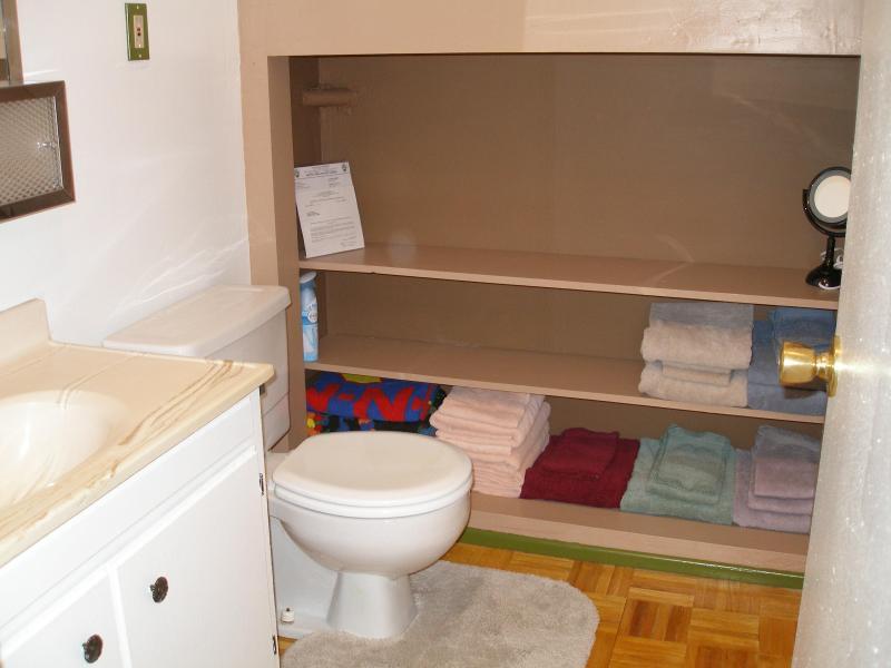 half bath upstairs