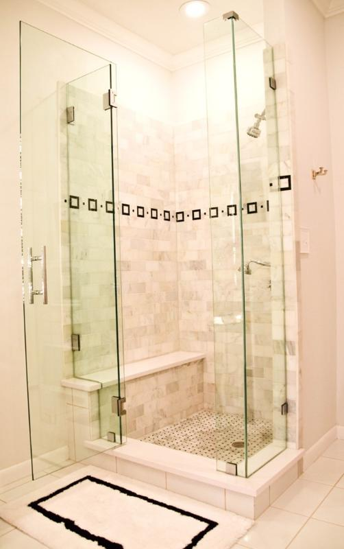 Master Bath: Large walk-in shower