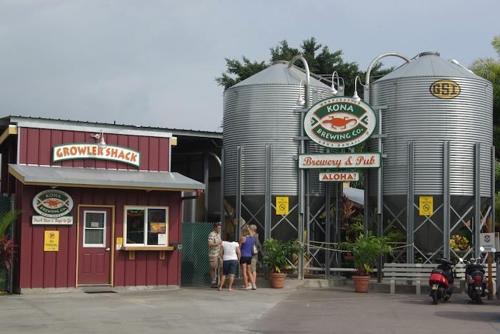 Kona Brewery is a 10 minute walk from condo