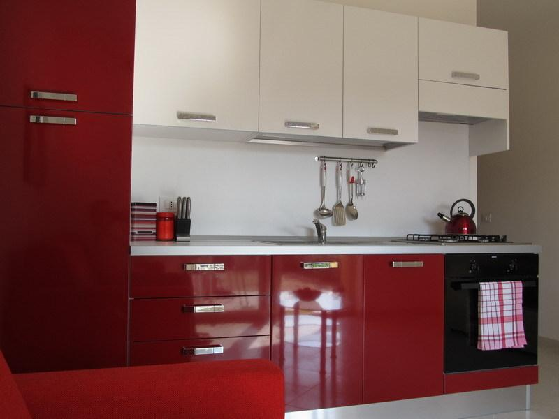 Modern kitchen fully equipped with all modern appliances