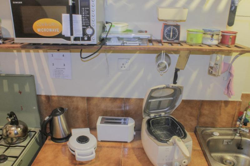 View of Kitchen, with special accessories