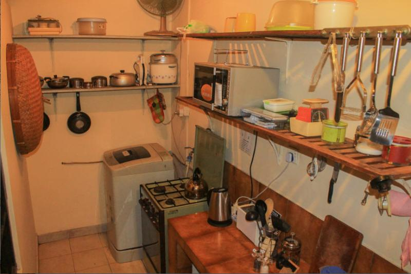 View of Kitchen, with fully automatic Washing Machine