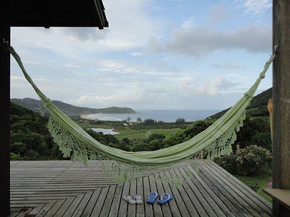 WONDERFUL VIEW OF A PARADISE BEACH – semesterbostad i Garopaba