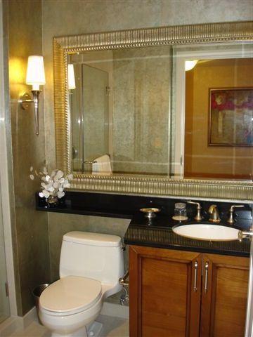 Two luxurious bathrooms