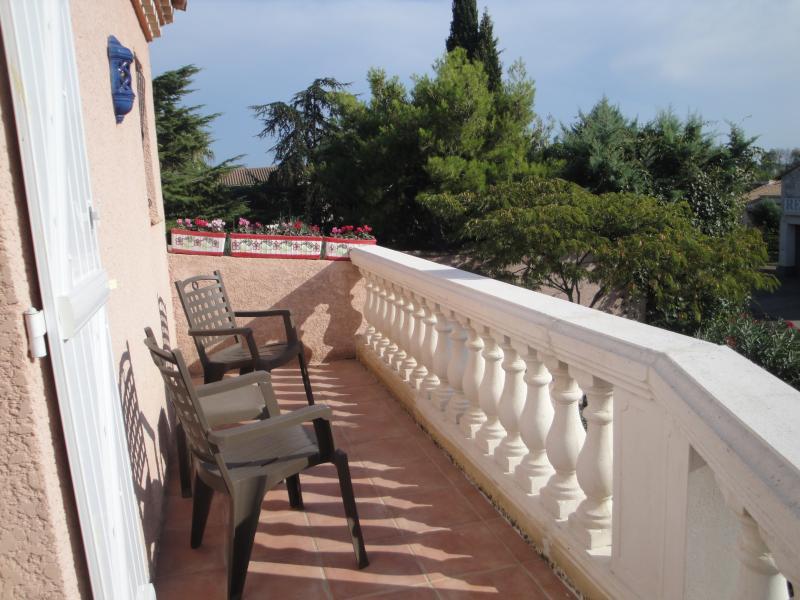 Balcone camera da letto master