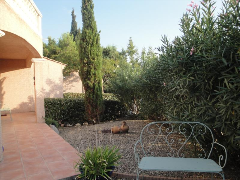 Front  Terrace and Garden