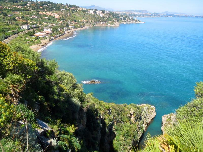 La côte près de la villa