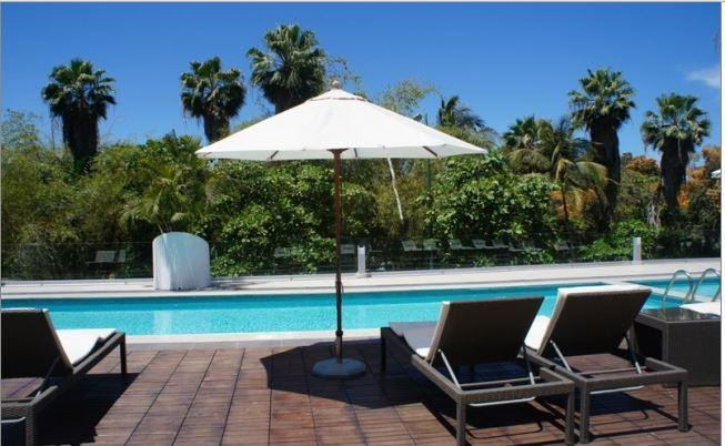 enjoy relaxing by our private pool