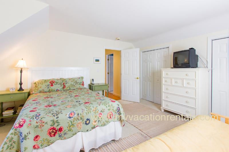 2nd Level Bedroom with Queen & Queen Futon
