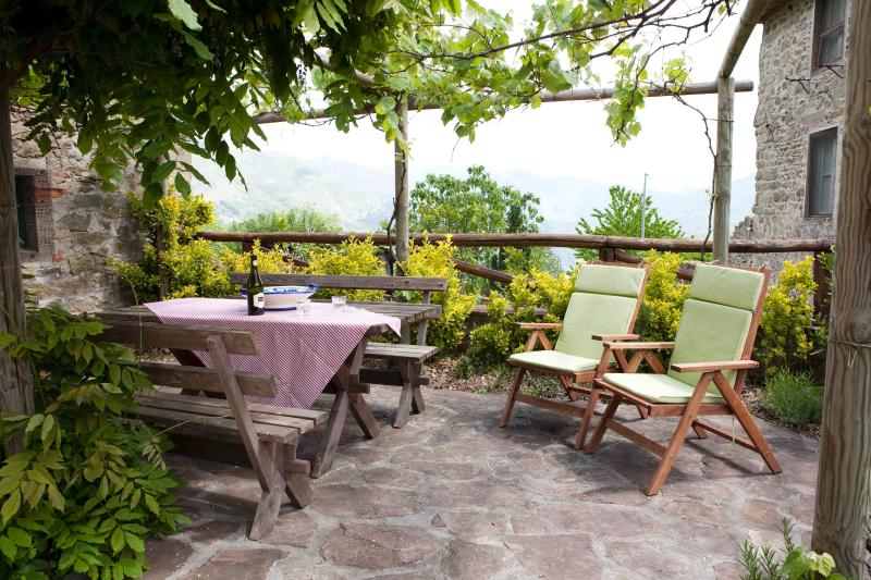 We spend most of our time outside. The garden is private, sunny, shady and secluded