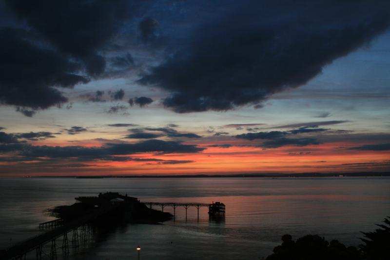 Cocktails coucher de soleil à la vue de Pier...