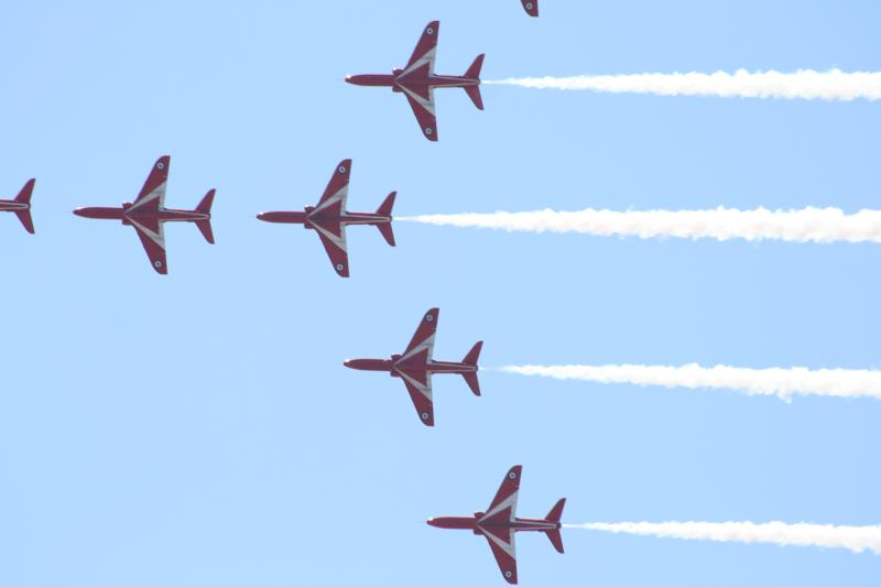 Annual red arrows visit...