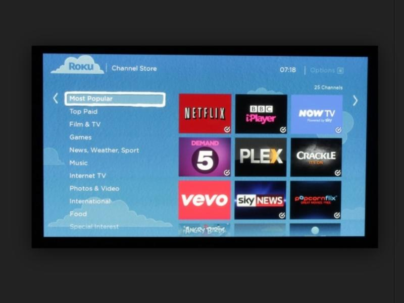 ROKU Streaming internet TV