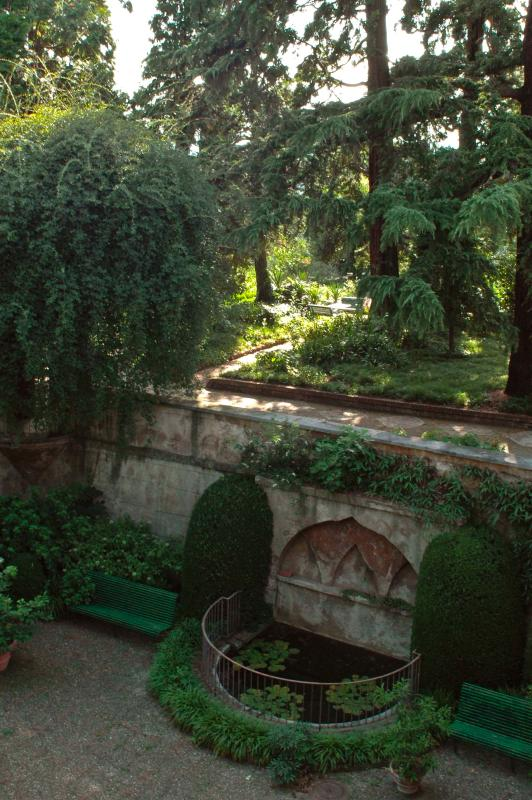 Private garden of the Castle