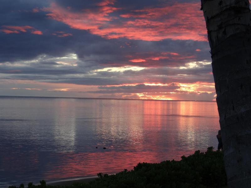 e un altro tramonto da The Shores