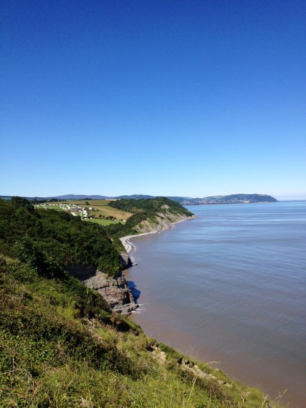 Costal Path viewed from Watchet