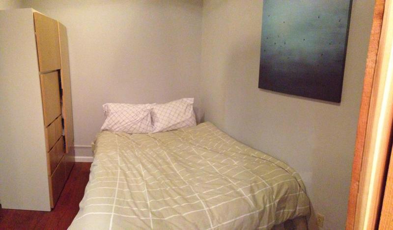 Queen mattress includes goose down comforter